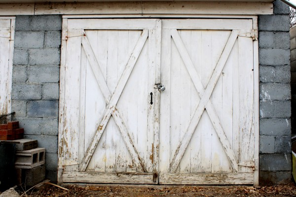 Old Garage Or Carriage House Door Picture Free