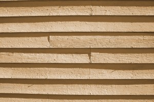 Tan Painted Wooden Siding Texture - Free High Resolution Photo