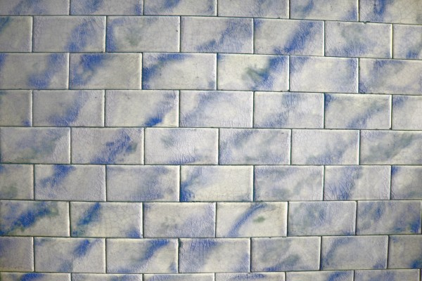 Vintage Blue and White Tile Texture - Free High Resolution Photo