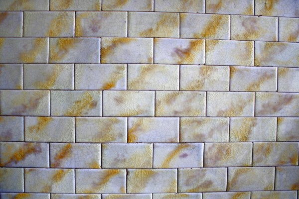 Vintage Gold and White Tile Texture - Free High Resolution Photo