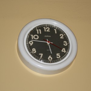 White Plastic Wall Clock - Free High Resolution Photo
