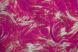 Fabric Texture with Bright Pink Swirl Pattern - Free High Resolution Photo
