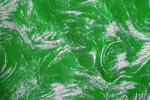 Fabric Texture with Kelly Green Swirl Pattern - Free High Resolution Photo