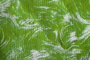 Fabric Texture with Lime Green Swirl Pattern - Free High Resolution Photo