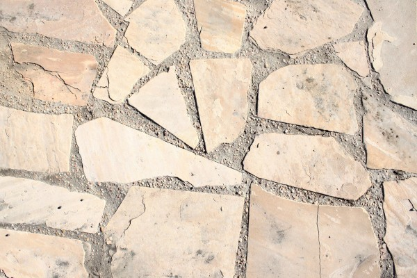 Light Colored Flagstone Paved Sidewalk Texture - Free High Resolution Photo