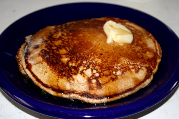 Pancakes with Butter and Maple Syrup - Free High Resolution Photo