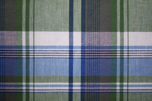 Plaid Fabric Texture Blue and Green - Free High Resolution Photo