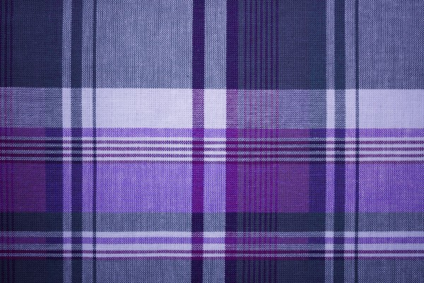 Purple and Blue Plaid Fabric Texture - Free High Resolution Photo