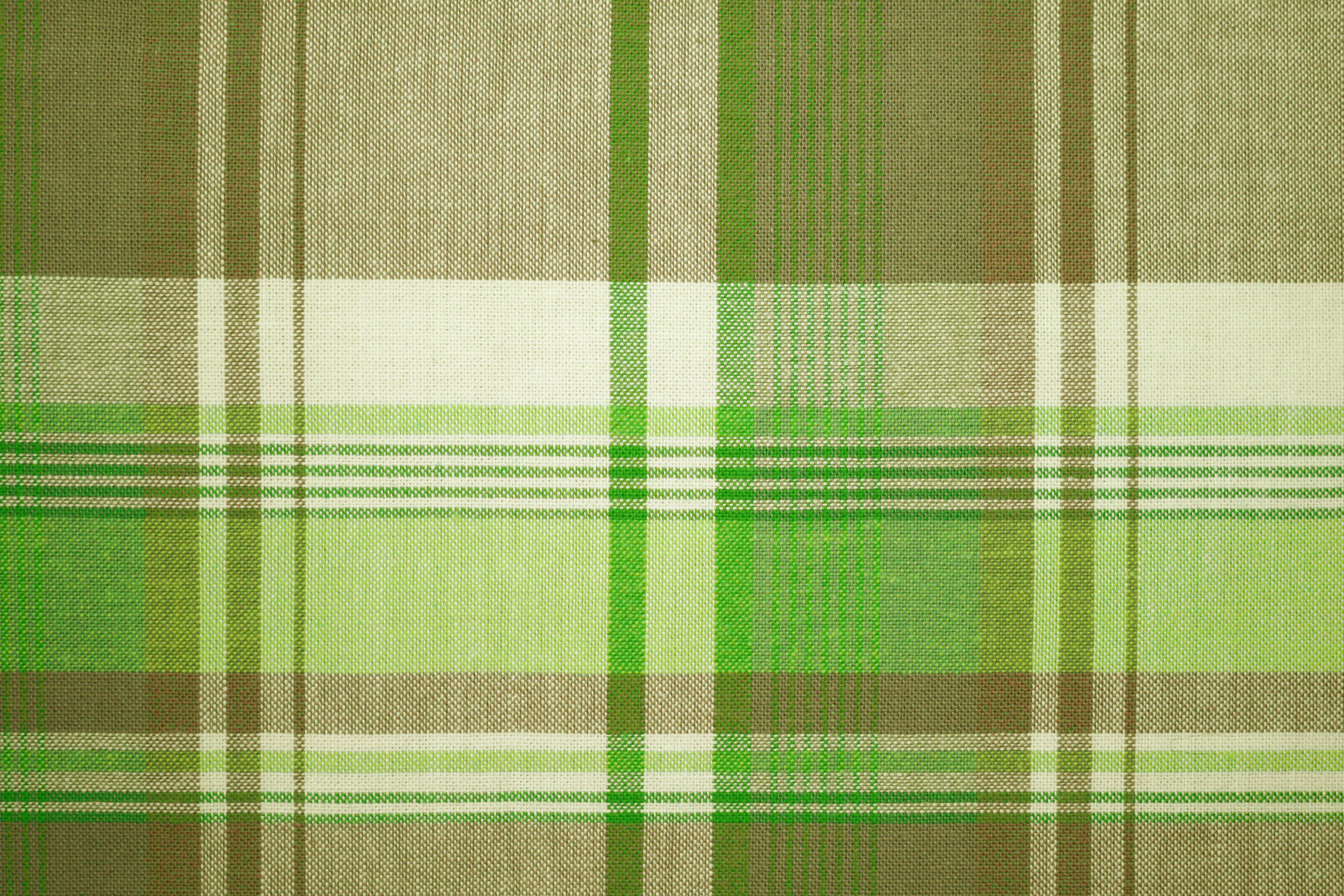 Green And Brown Plaid Fabric Texture Picture Free Photograph - Green and brown wallpaper