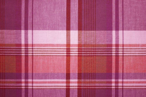 Magenta and Red Plaid Fabric Texture - Free High Resolution Photo