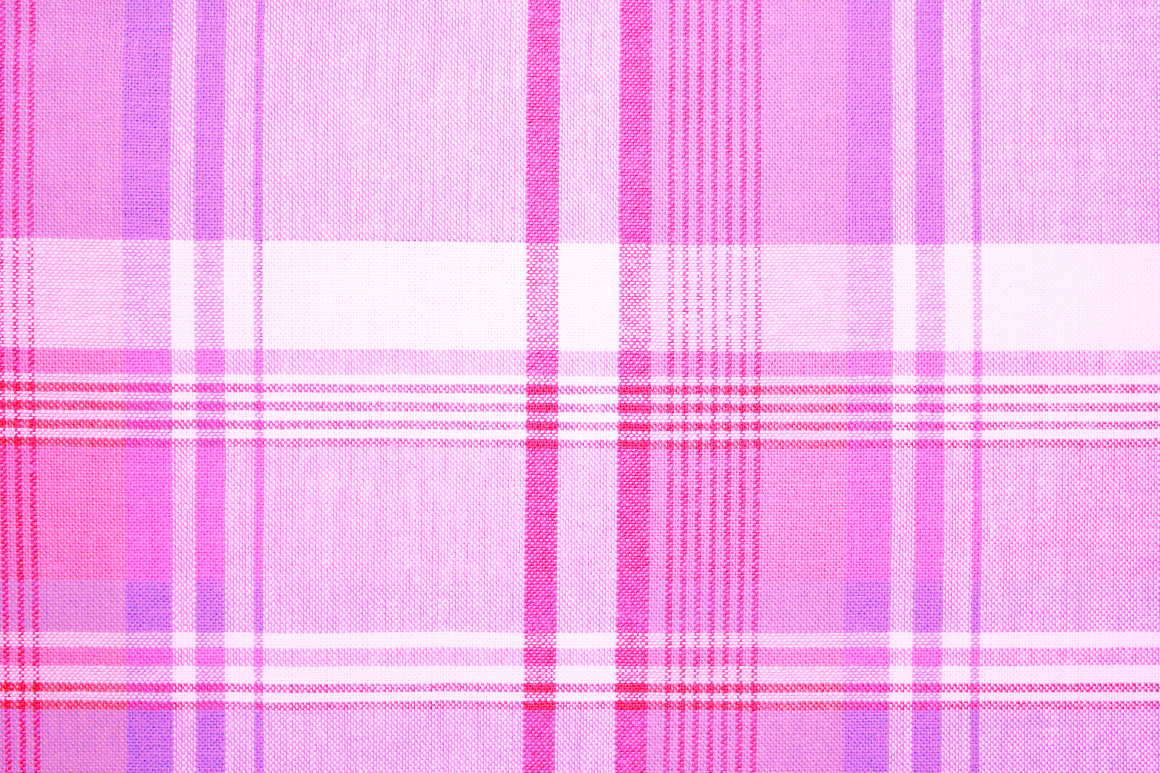 Pink fabric texture free high resolution photo dimensions 3888 - Pink And Purple Plaid Fabric Texture Free High Resolution Photo Dimensions 3888 2592 Click Here To Download Full Resolution Image