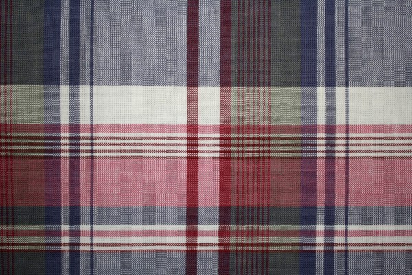 Plaid Fabric Texture - Red and Blue with Green - Free High Resolution Photo