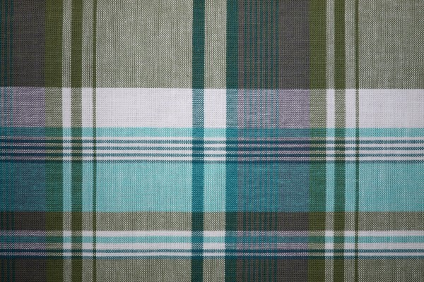 Plaid Fabric Texture Turquoise and Green - Free High Resolution Photo