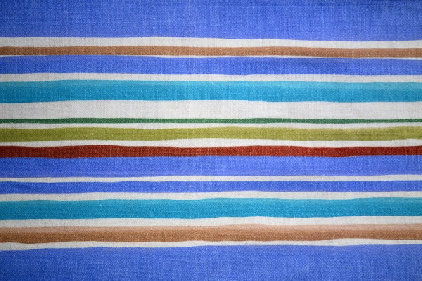 Striped Fabric Texture Blue and Brown - Free High Resolution Photo