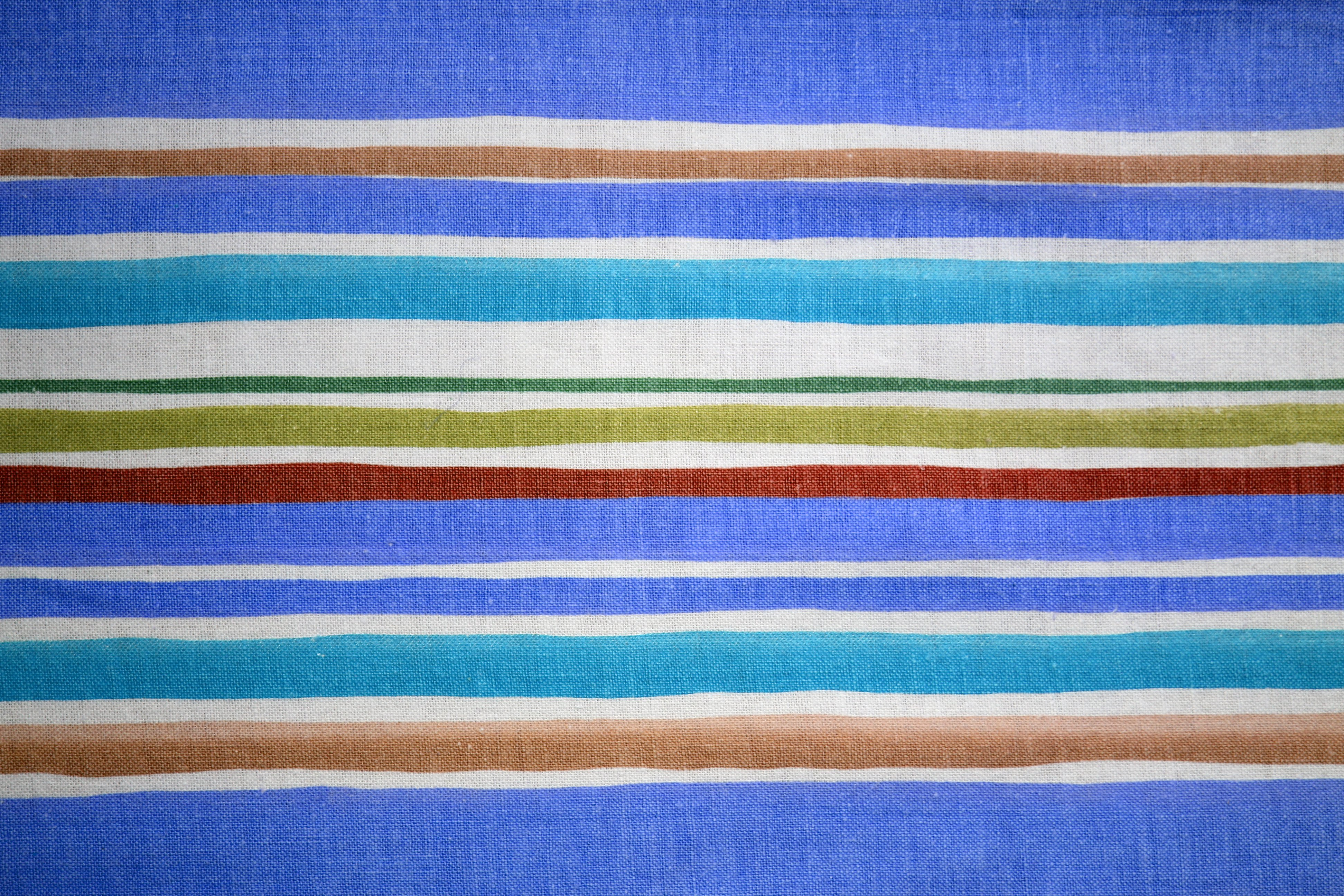 Striped Fabric Texture Blue and Brown Picture | Free Photograph ...