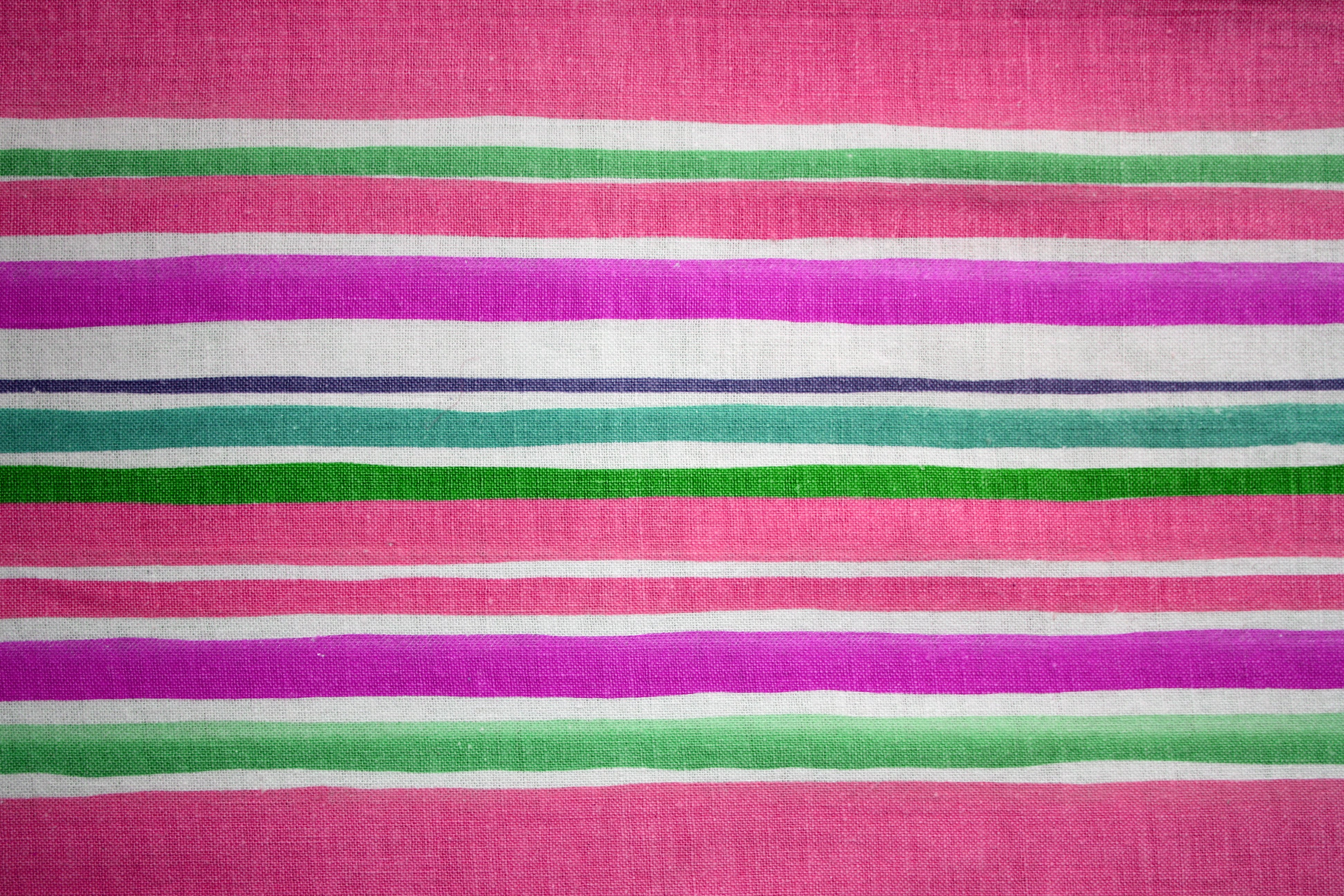 Striped Fabric Texture Pink and Green Picture | Free ...