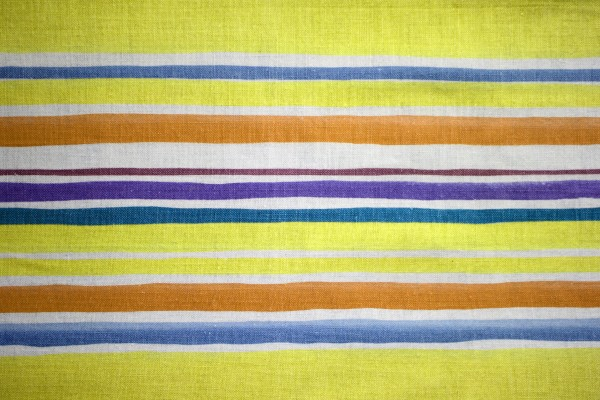 Striped Fabric Textue Yellow and Blue - Free High Resolution Photo