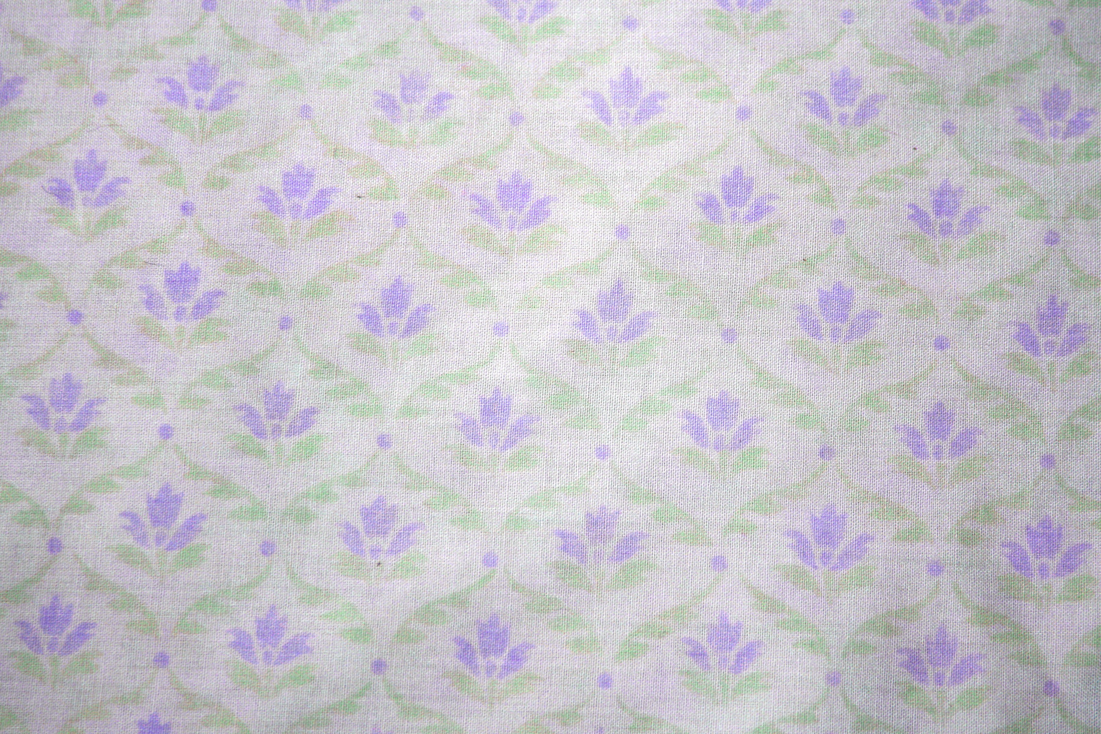 Green and white floral pattern - photo#19