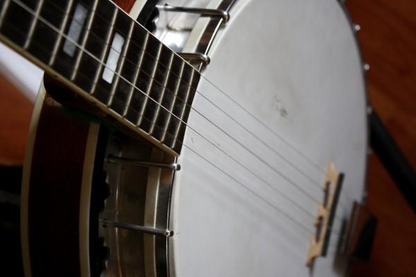 Five String Banjo Close Up - Free High Resolution Photo
