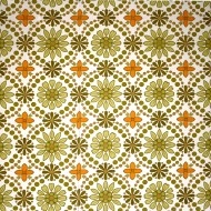 Green and Orange Flower Wallpaper Texture - Free High Resolution Photo