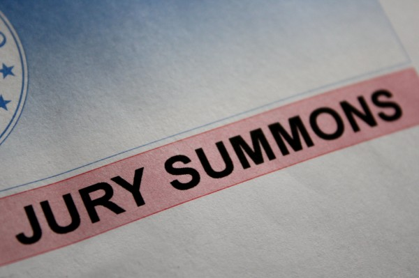 Jury Summons - Free High Resolution Photo