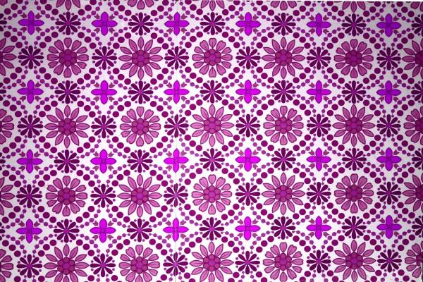 Magenta Flowers Wallpaper Texture - Free High Resolution Photo
