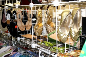 Sandals Displayed at Thrift Shop - Free High Resolution Photo