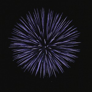 Blue Fireworks Starburst - Free High Resolution Photo