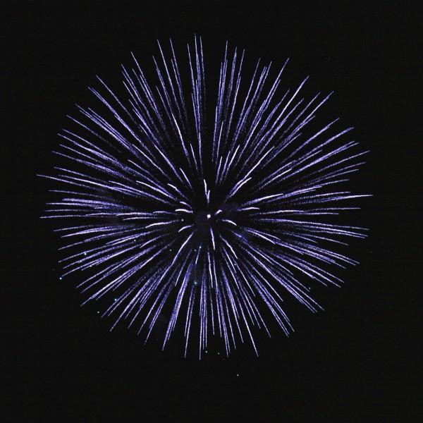 Blue Fireworks Starburst - Free High Resolution Photo