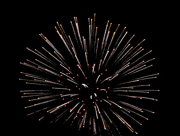 Fireworks Red, White and Blue Starburst - Free high resolution photo