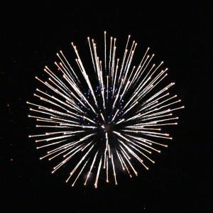 White and Blue Starburst Fireworks - Free High Resolution Photo