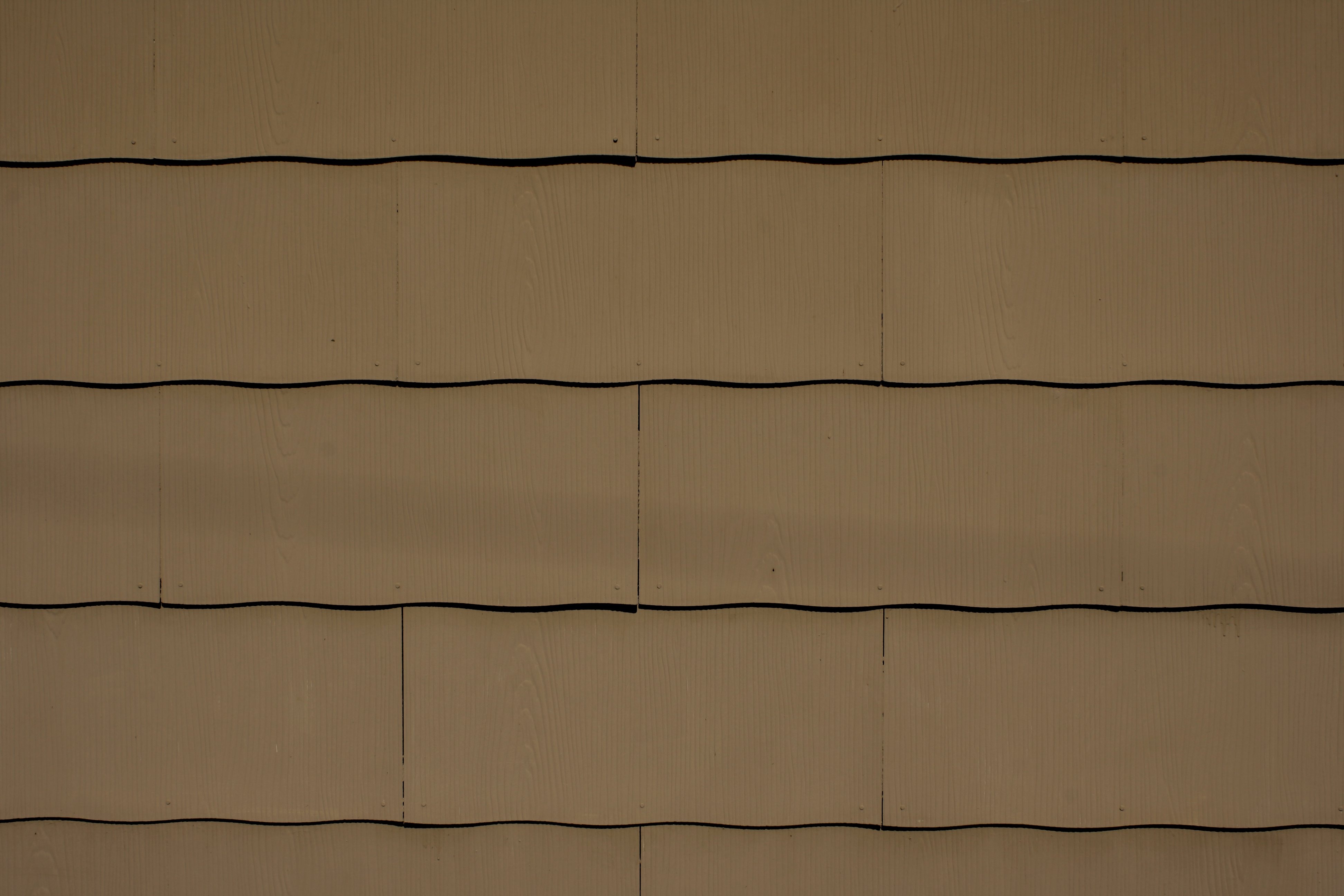 Brown Scalloped Asbestos Siding Shingles Texture Picture