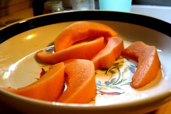 Cantaloupe Slices - Free High Resolution Photo