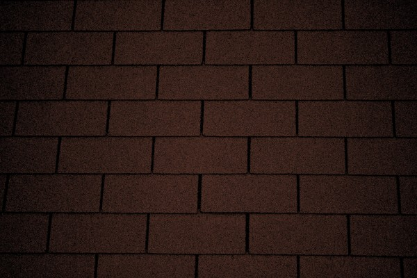 Chocolate Brown Asphalt Roof Shingles Texture - Free High Resolution Photo
