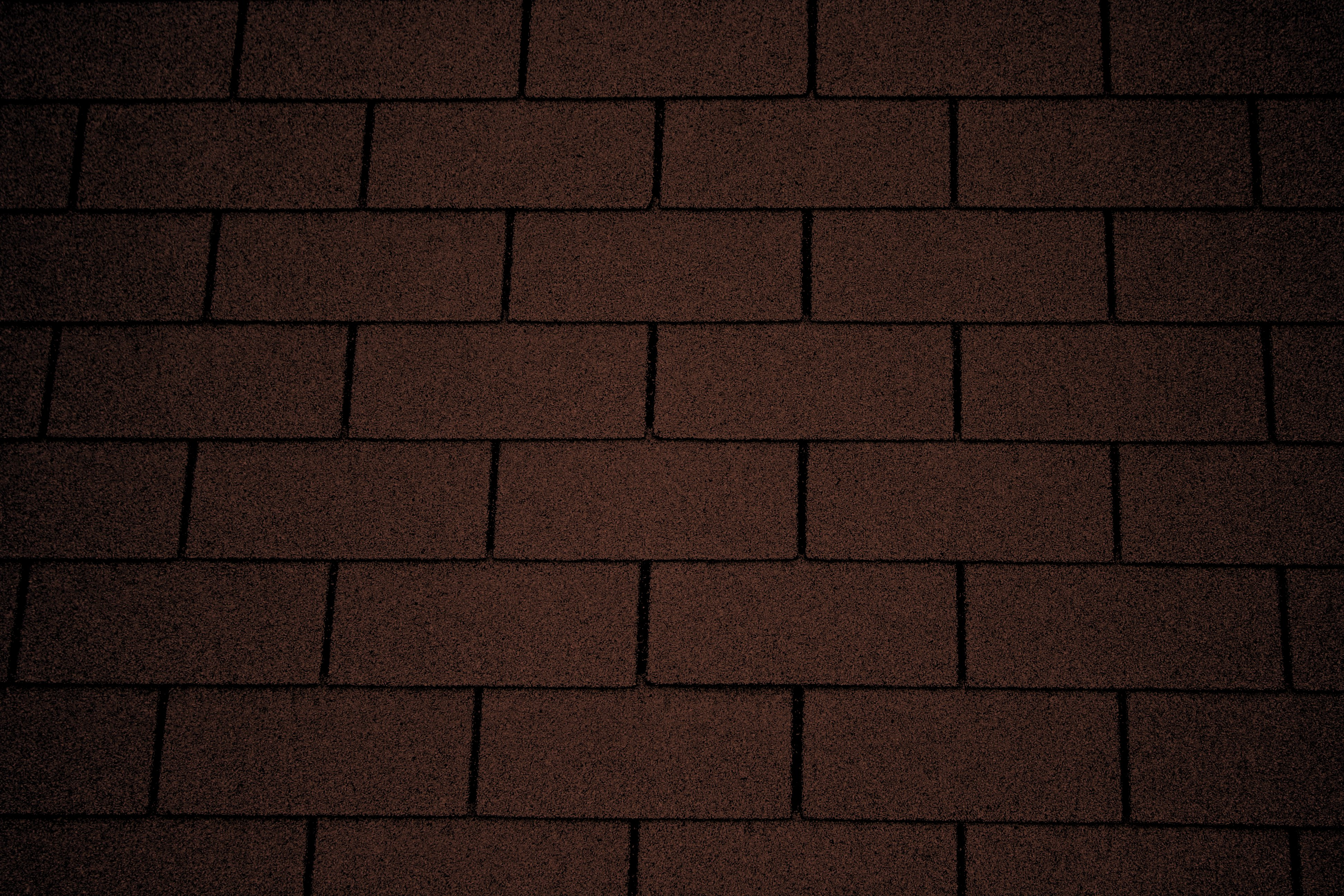 Chocolate Brown Asphalt Roof Shingles Texture Picture