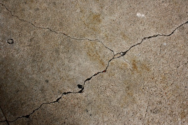 Cracks in Cement Sidewalk - Free High Resolution Photo