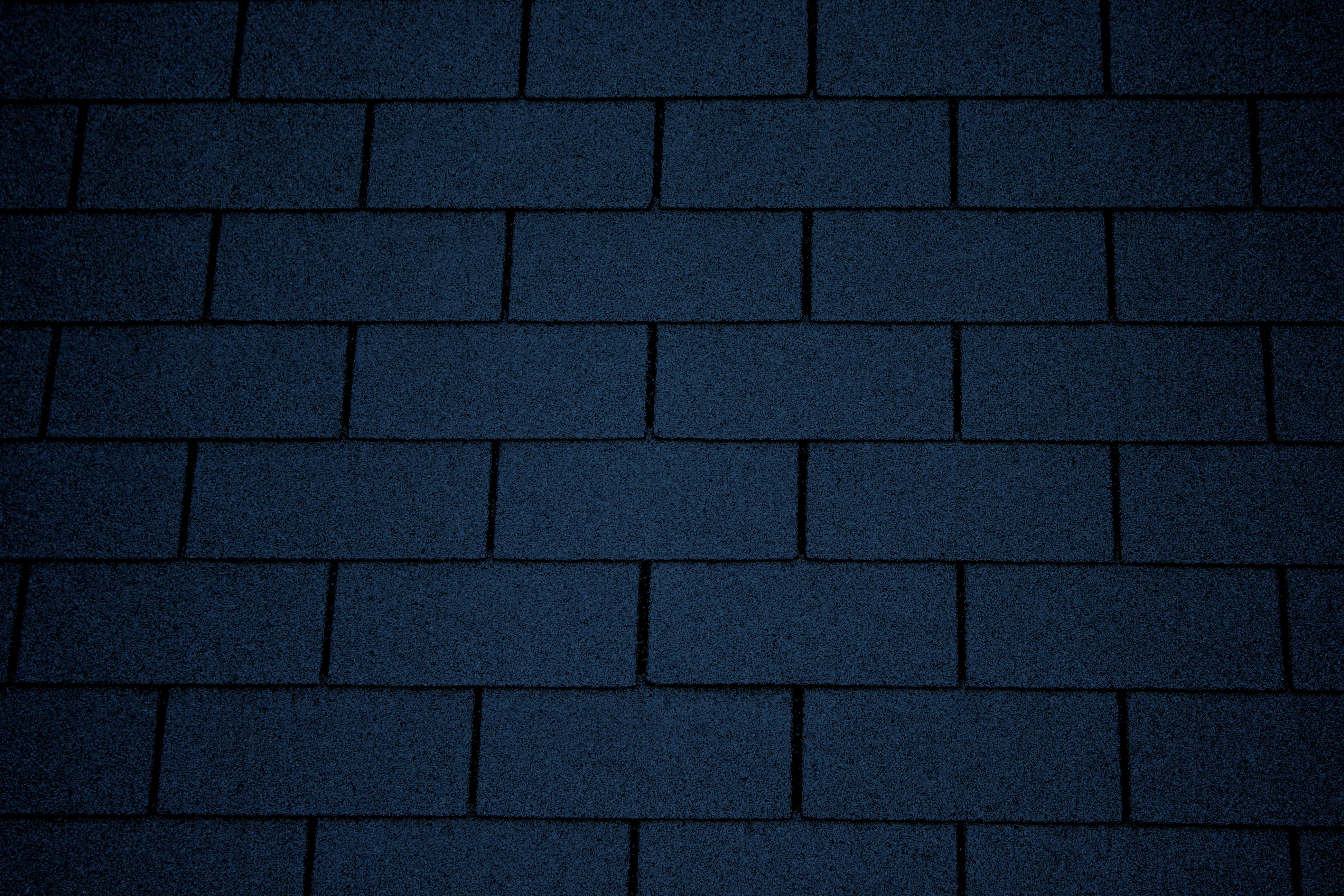 Dark Blue Asphalt Roof Shingles Texture Picture Free