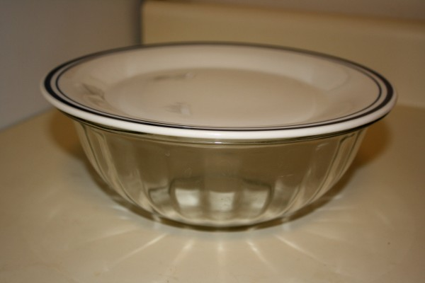Glass Bowl with Plate on Top - Free high resolution photo