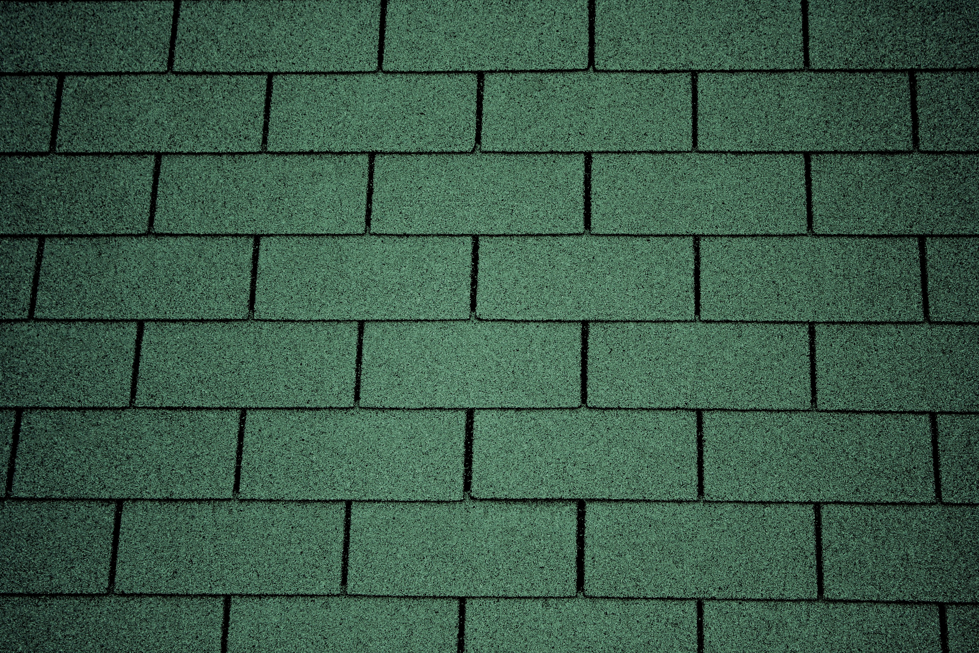Green Asphalt Roof Shingles Texture Picture Free