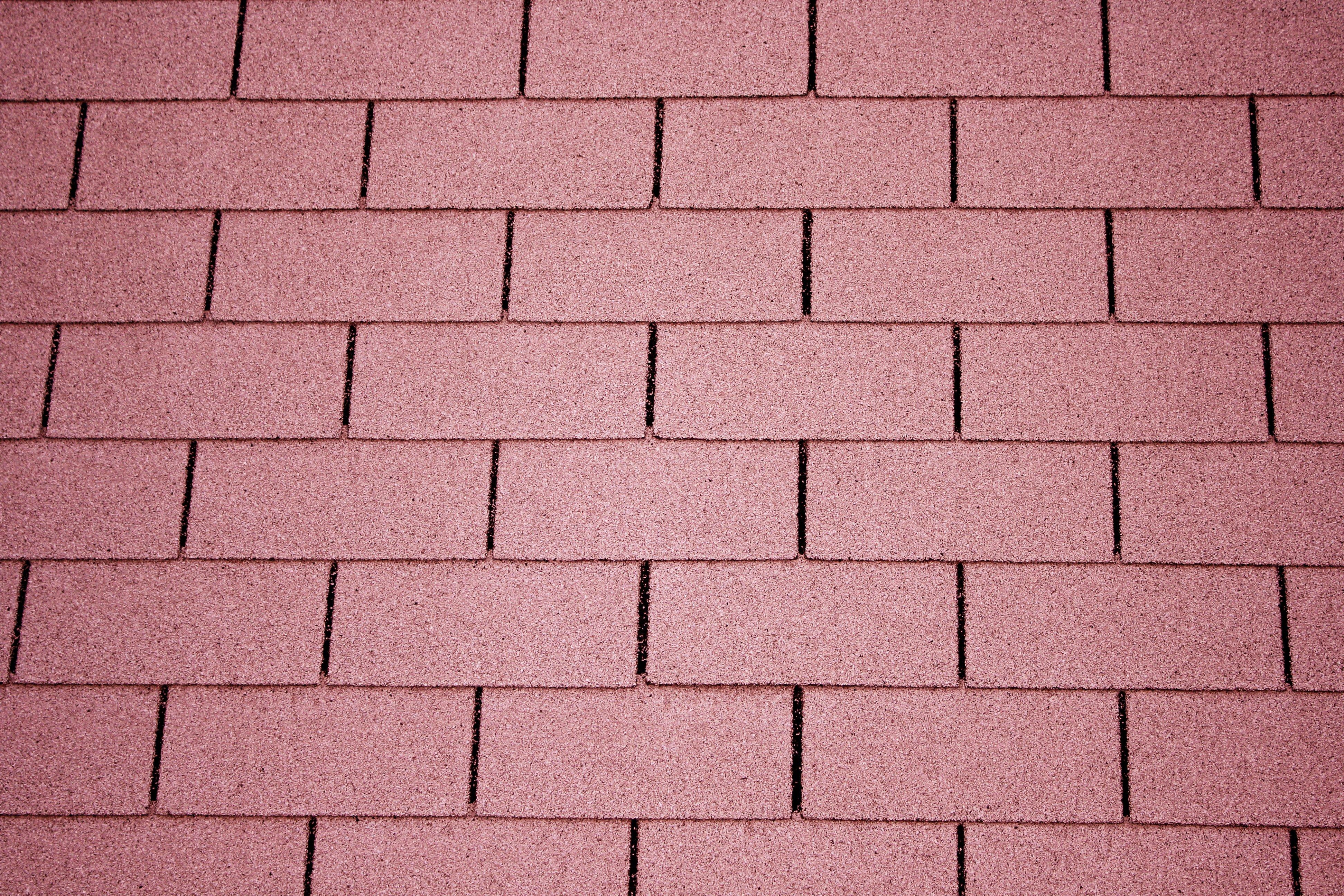 Light Red Asphalt Roof Shingles Texture