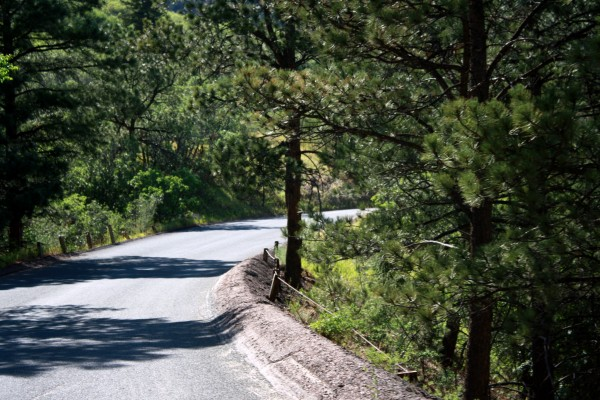 Mountain Road - High Resolution Photo