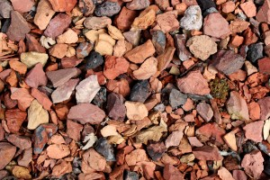 Red and Black Rocks Gravel Texture - Free High Resolution Photo