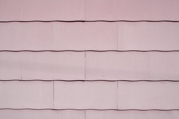 Rose Colored Scalloped Asbestos Siding Shingles Texture - Free High Resolution Photo