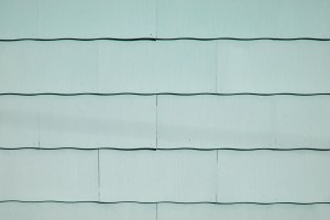 Sage Green Scalloped Asbestos Siding Shingles Texture - Free High Resolution Photo