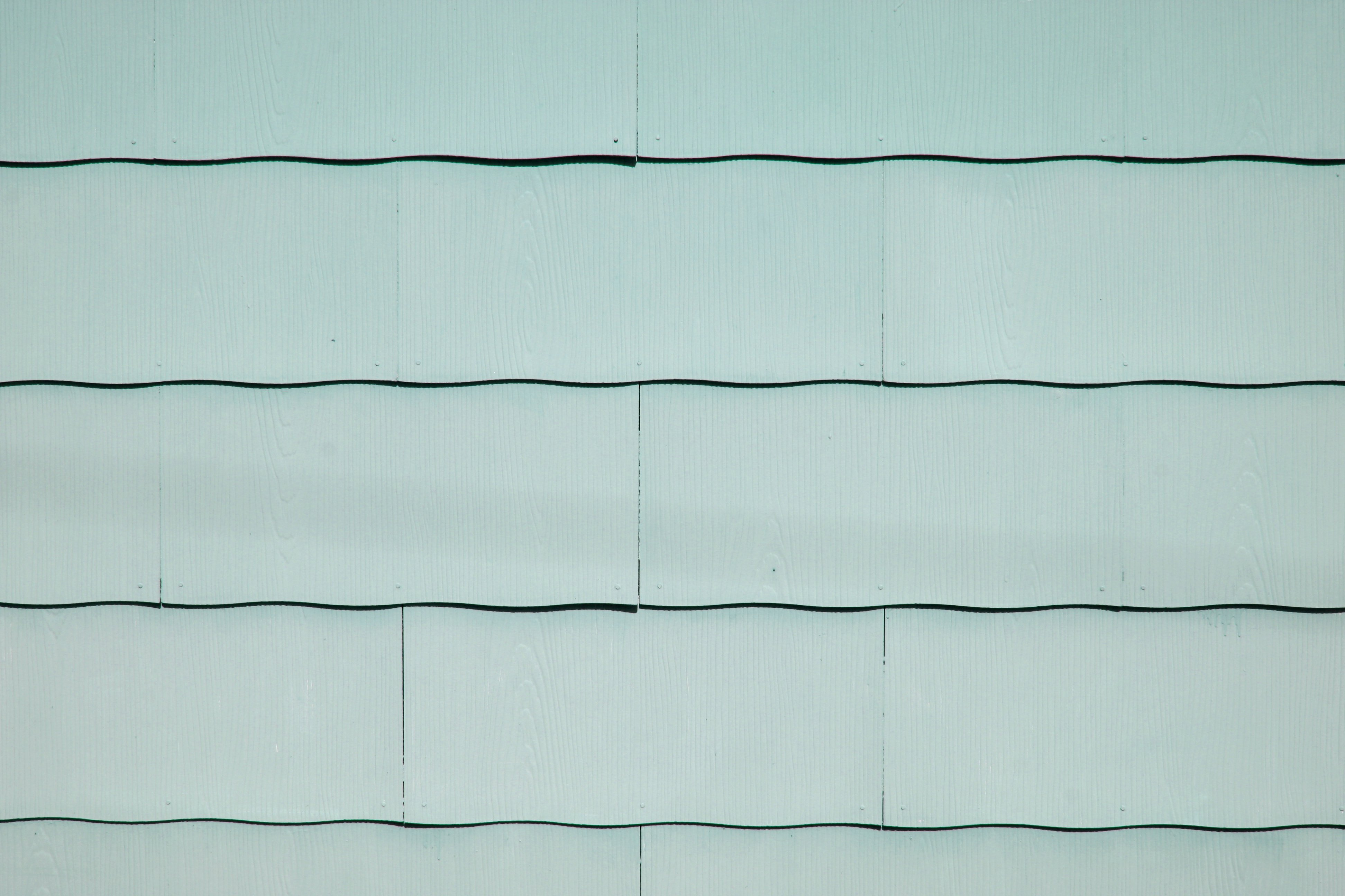 Sage Green Scalloped Asbestos Siding Shingles Texture
