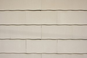 Tan Scalloped Siding Texture - Free High Resolution Photo