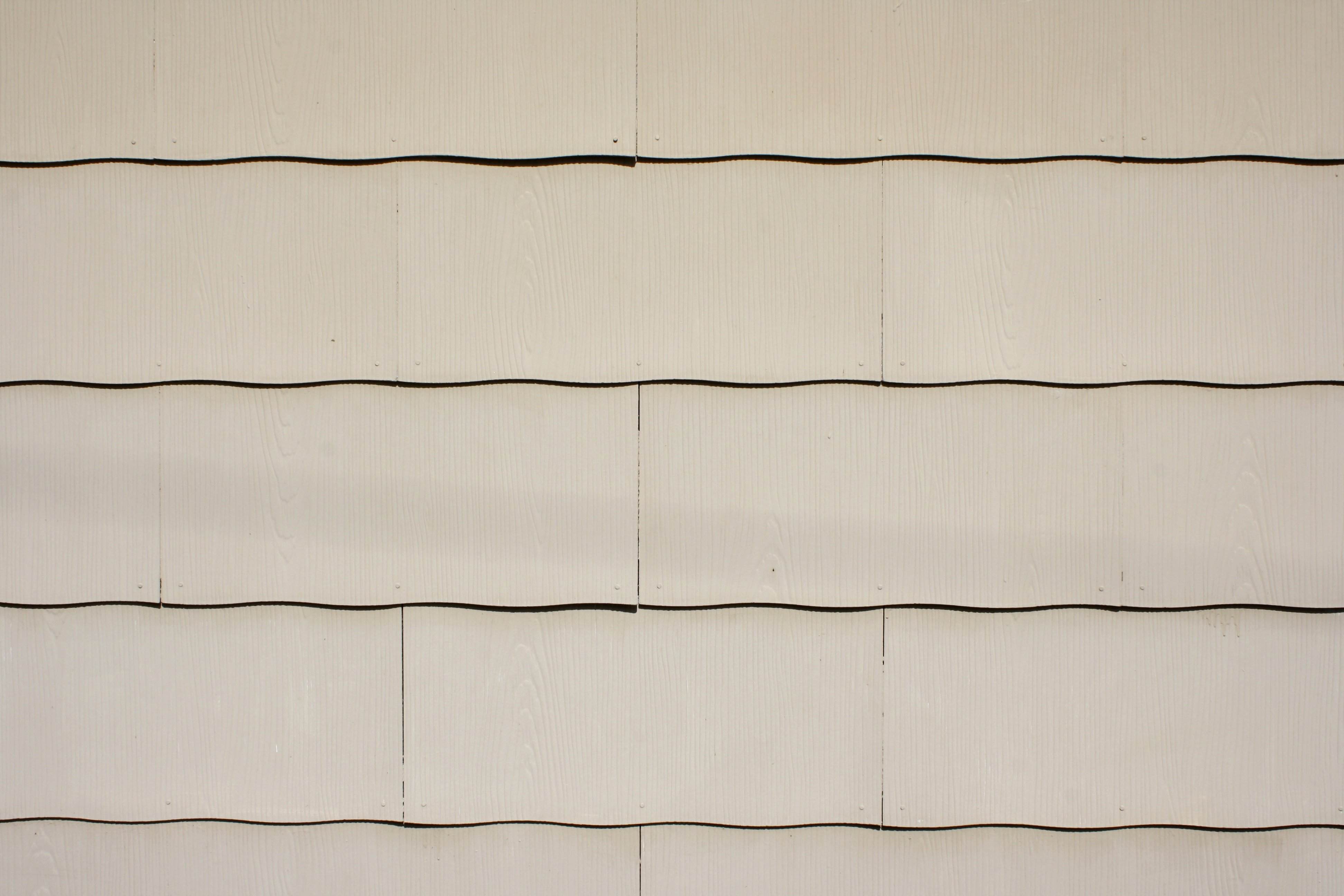 Tan scalloped asbestos siding shingles texture picture for Types of shingle siding