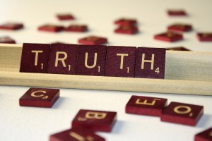 Truth - Free High Resolution Photo of Scrabble tiles spelling out the word truth