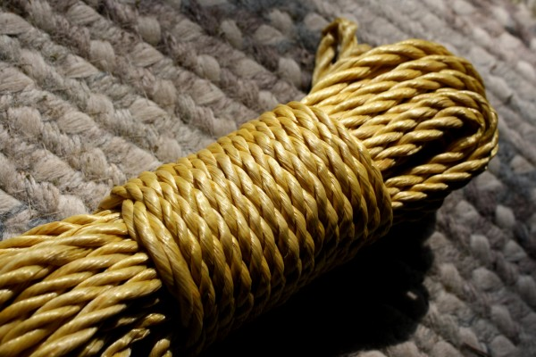 Twisted Rope Yellow - Free High Resolution Photo