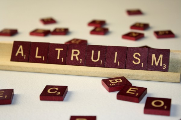 Altruism - Free high resolution photo of the word Altruism spelled in Scrabble tiles